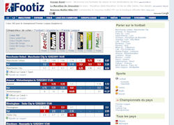Footiz : comparateur de cotes