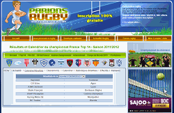 Parions Rugby R�sultats