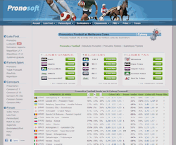 Pronosoft : comparateur de cotes