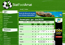 screenshot du site StatFootAmat